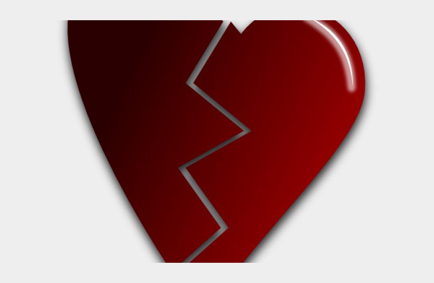 small heart clipart, Cartoons - Broken Heart Clipart Small - Broken Heart Art Transparent
