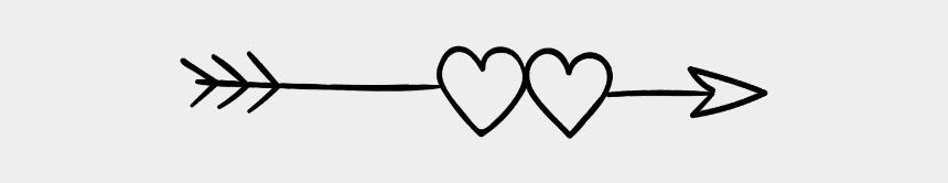 two hearts clipart, Cartoons - #hearts #arrow #heartandarrow #twohearts - Vou Cuidar De Mim Frases