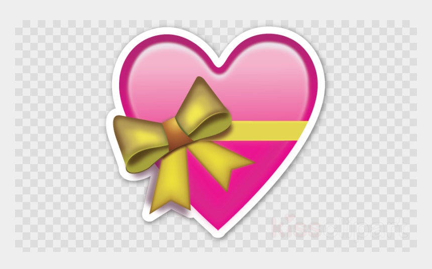 free love clipart, Cartoons - Emoji Heart Ribbon Flower Love Clipart Free Download - Heart Cut Out Emoji
