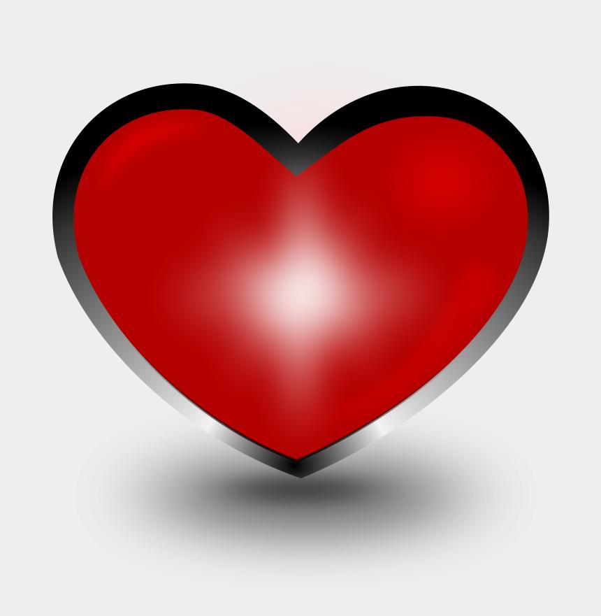 purple heart clipart, Cartoons - Broken Hearts Clip Art Download - Coração Com Contorno Preto