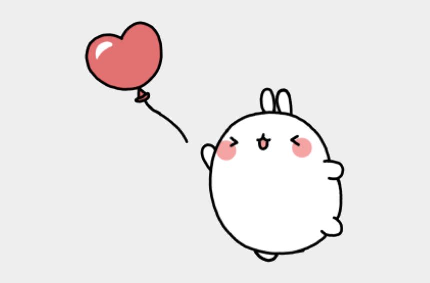 pink heart clipart, Cartoons - #molang #cute #kawaii #pastel #pink #heart #love #freetoedit - Molang Png