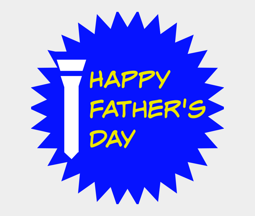 happy fathers day clipart, Cartoons - Fathers Day Png Hd - Graphic Design