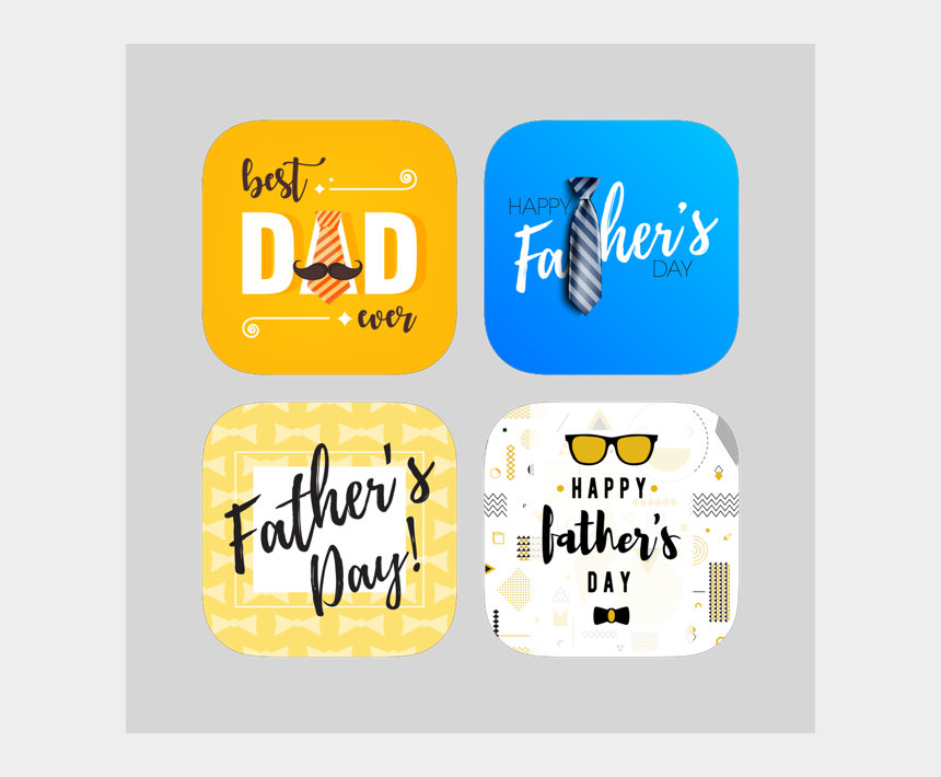 happy fathers day clipart, Cartoons - 9 Father's Day Stickers Mega Bundle On The App Store - Label