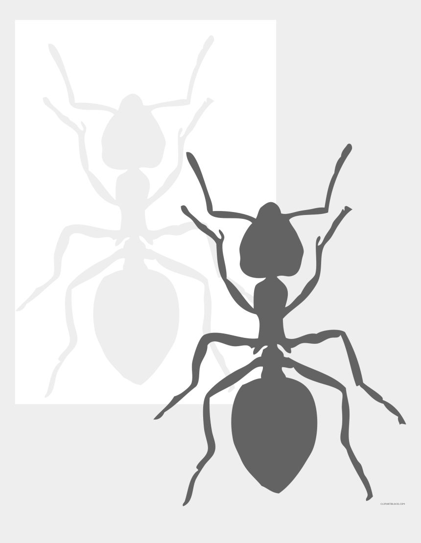 ant clip art, Cartoons - Page Of Clipartblack Com Black And White - Ant Black And White