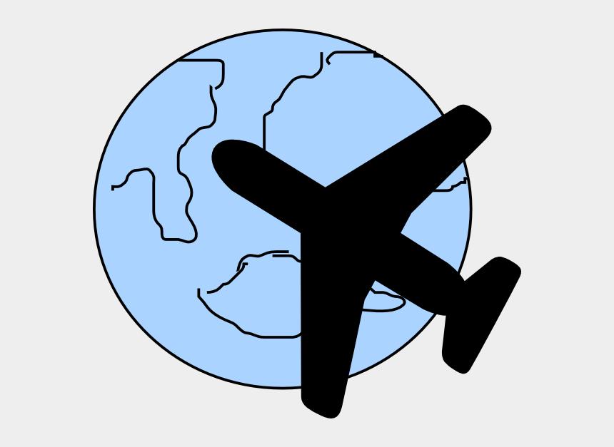 plane clip art, Cartoons - Clipart Of A Plane