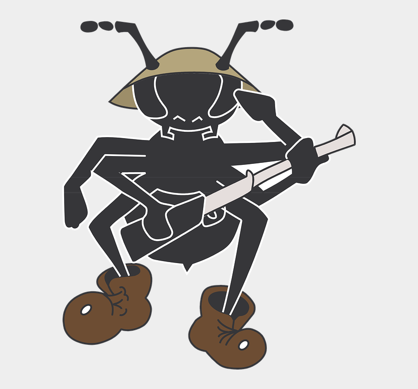 ant clip art, Cartoons - Army Cartoon 8, Buy Clip Art - Army Ants Clip Art