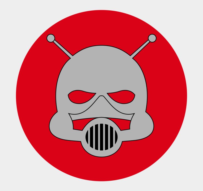 ant clip art, Cartoons - Ant Clipart Mask - Marvel Ant Man Logo