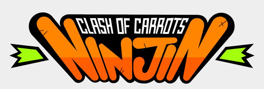 carrots clipart, Cartoons - Watch Trailer Array Watch Trailer - Ninjin Clash Of Carrots Logo