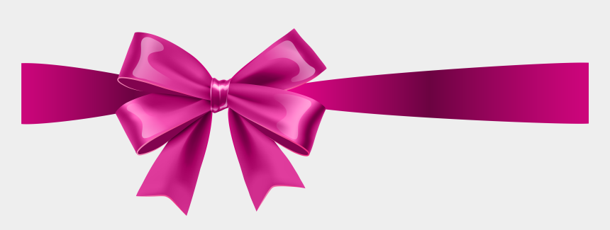 cancer ribbon clipart, Cartoons - Transparent Clip Art - Pink Ribbon Bow Transparent Background