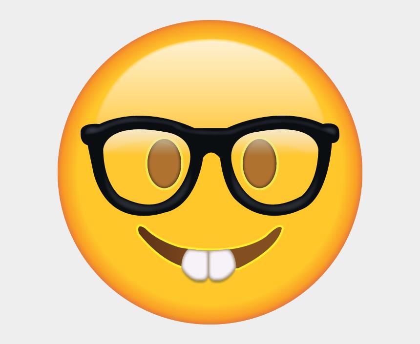 emoji clip art, Cartoons - Download Nerd Emoji [free Emoji Images Png] - Nerd Face Emoji Png