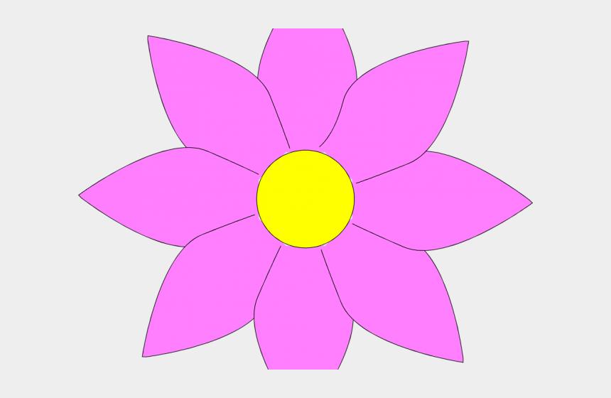spring flower clipart, Cartoons - Spring Flowers Clipart - Single Flower Clip Art