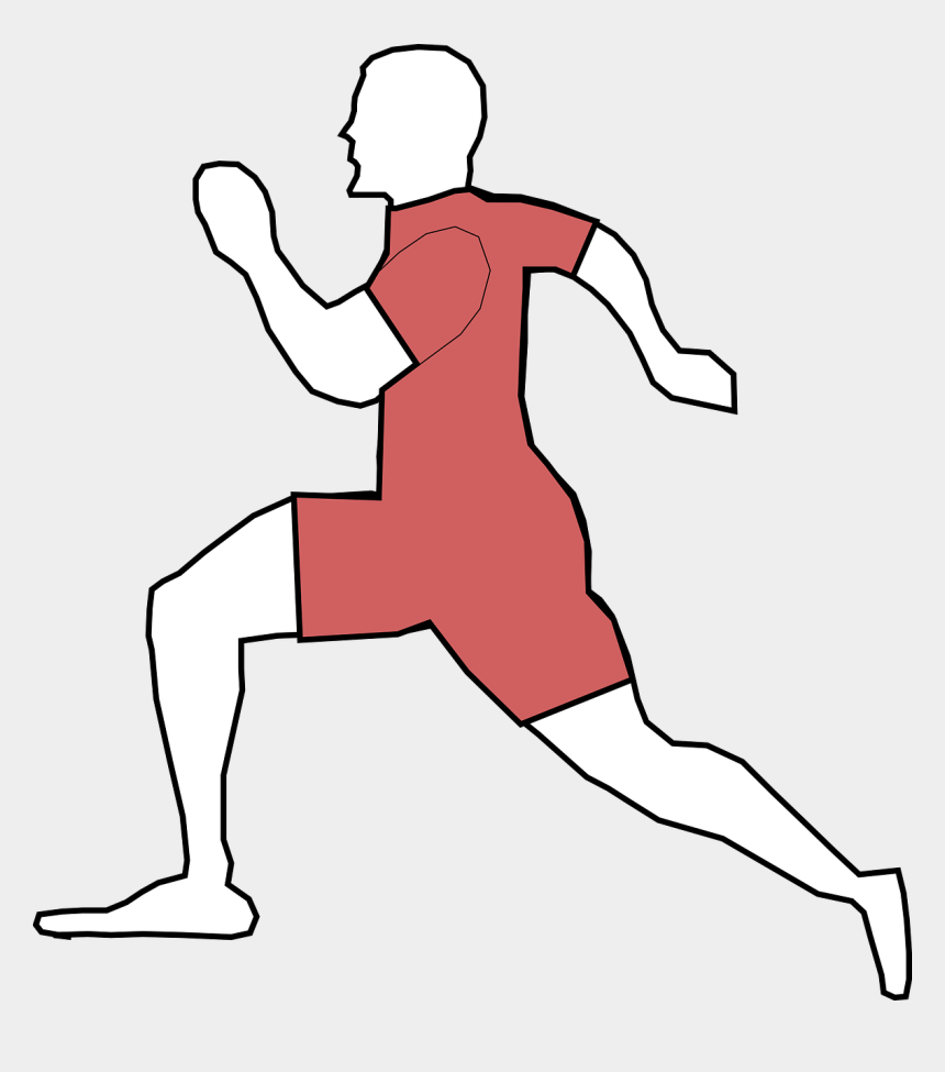 runner clipart, Cartoons - Man Running Male Run Sport Png Image - Exercise Clip Art