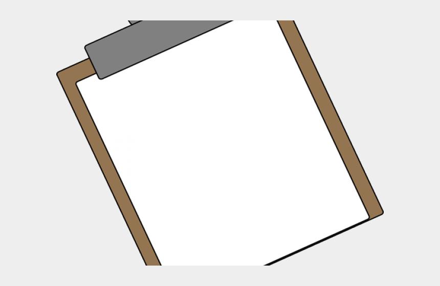 paper clipart, Cartoons - Paper Clipart Clipboard - Wood