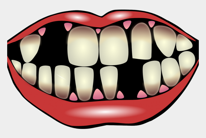 teeth clipart, Cartoons - 9 Factors For Losing Your Teeth - Effects Of Smoking Clipart