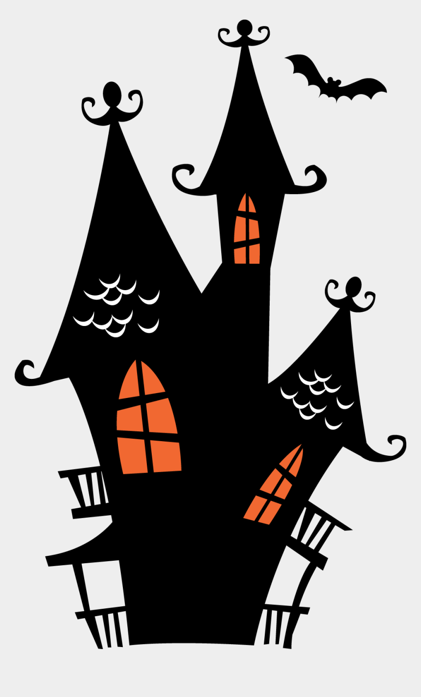 haunted house clip art, Cartoons - Halloween Haunted Houses Clipart - Spooky House Haunted House Clipart