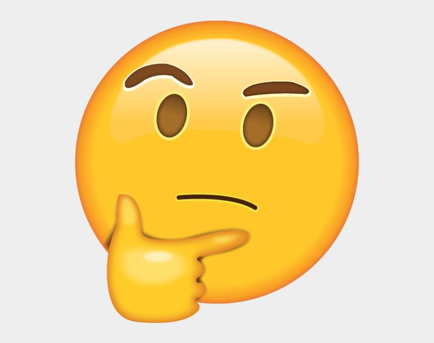 emoji clip art, Cartoons - Cereal Clipart Emoji - Whatsapp Emoji Thinking