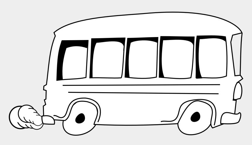 school bus clip art, Cartoons - Bus Clipart Free - Outline Of A Bus