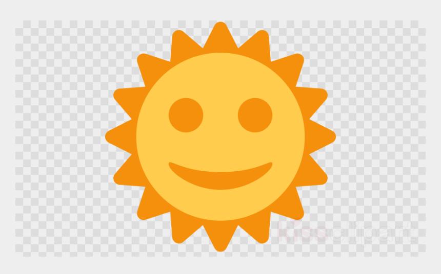 emoji clip art, Cartoons - Forsen Sun With Face Clap Clipart Emoji Computer Icons - Flor Moana Png