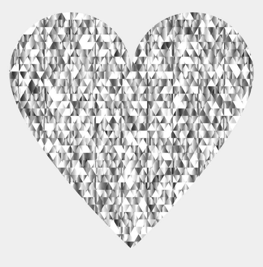 diamond clip art, Cartoons - Diamond Heart Transparent Background