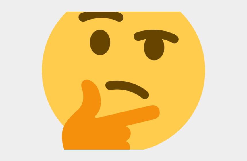 emoji clip art, Cartoons - Emoji Face Clipart High Resolution - Thinking Emoji Discord Png