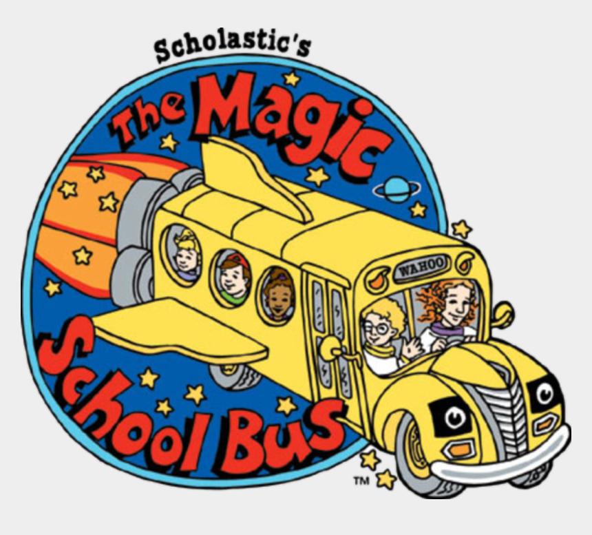 school bus clip art, Cartoons - #school #bus #magic - Magic School Bus Logo