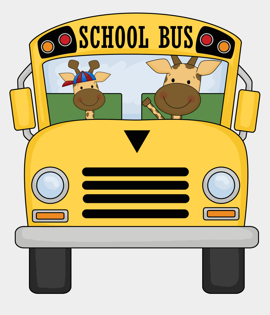 school bus clip art, Cartoons - Obey Clipart Bus - Frog On A Bus