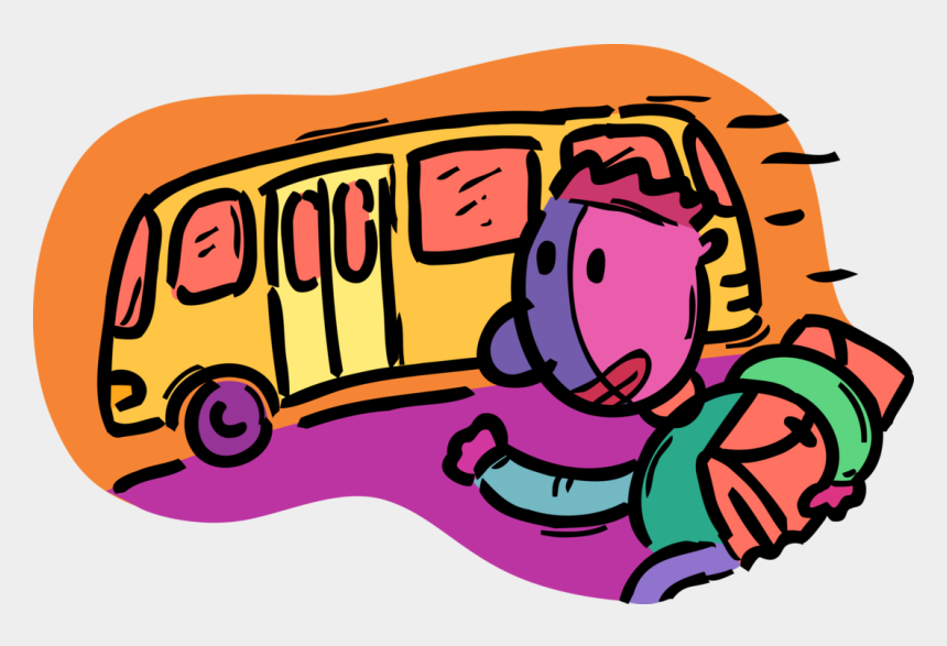 school bus clip art, Cartoons - School Bus Vector Png