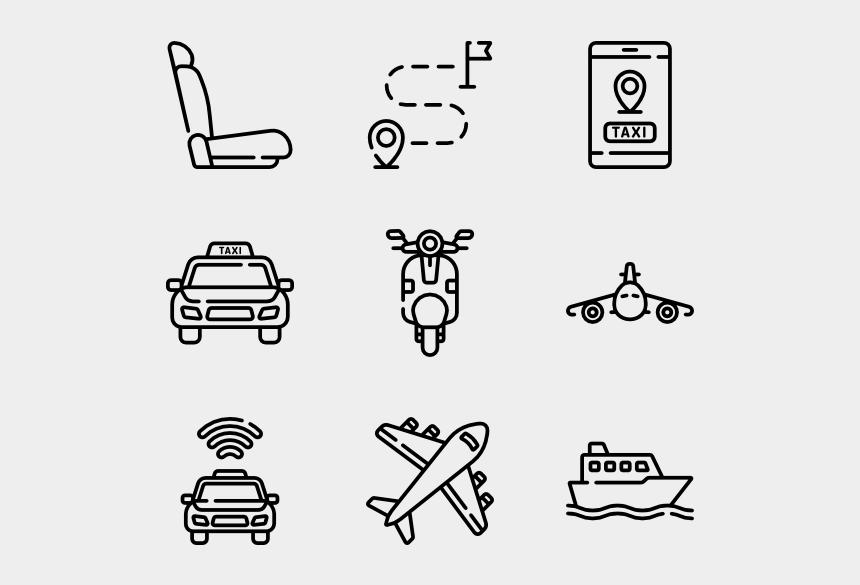 school bus clip art, Cartoons - Public Transportation - Design Icon Vector