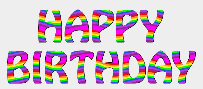 happy birthday clip art, Cartoons - Funny Happy Birthday Clipart Image - Happy Birthday In Transparent Background