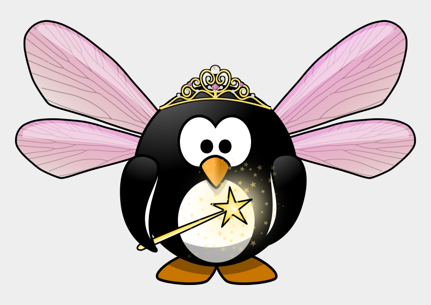 penguin clipart, Cartoons - 28 Collection Of Halloween Penguin Clipart - Penguin Fairy