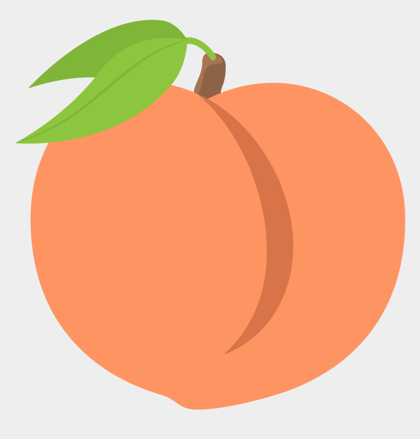 Emoji Clipart Peach Free For Download On Rpelm Picture - Peach Emoji
