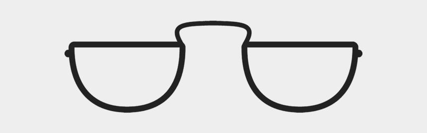 moon clip art, Cartoons - Glasses Stamp Stamps Stamptopia Ⓒ - Half Moon Spectacles Clip Art