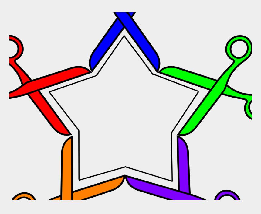 scissor clip art, Cartoons - Scissor Star Svg Clip Arts 600 X 576 Px - Scissor Star