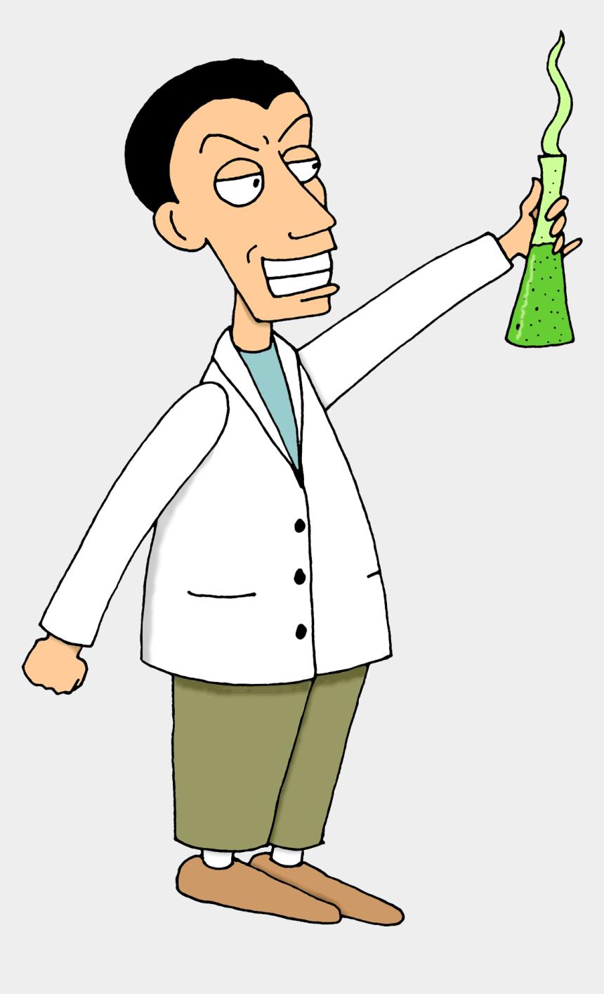 Mad scientist vector clip art | Free SVG