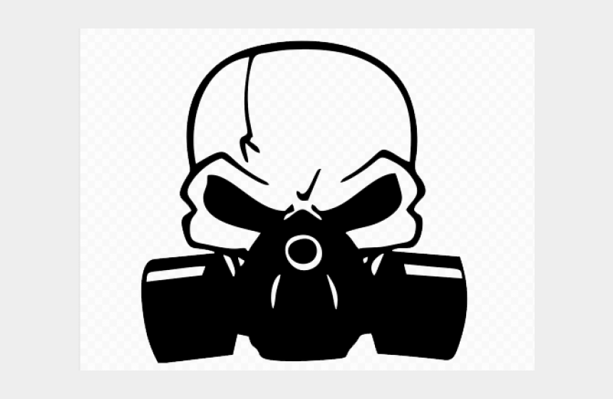 gas clipart, Cartoons - Gas Mask Clipart Smoke Drawing - Skull Gas Mask Clipart