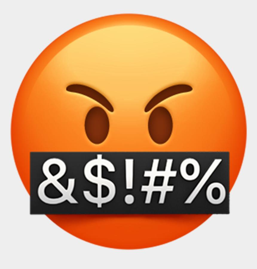 emoji clipart, Cartoons - Angry Emoji Clipart Giant - Iphone Emoji