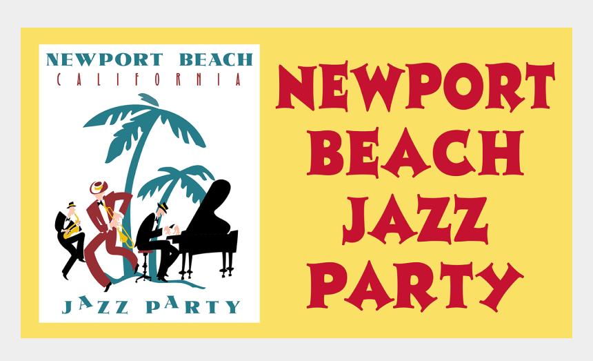 upcoming events clip art, Cartoons - Feb Newport Beach Jazz Party - Palm Tree