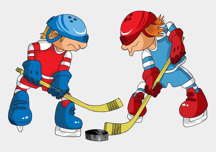ice hockey clipart, Cartoons - Hockey Players Cartoon - Ice Hockey
