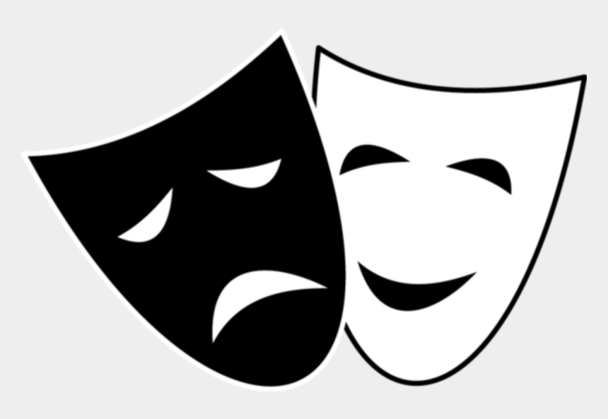 hollywood star clipart, Cartoons - Acting Drawing Star Hollywood - Comedy And Tragedy Masks
