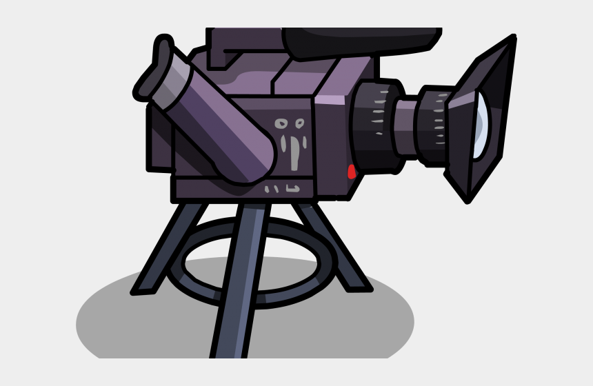 film camera clipart, Cartoons - Video Camera Clipart Film Club - Video Camera Animation Png