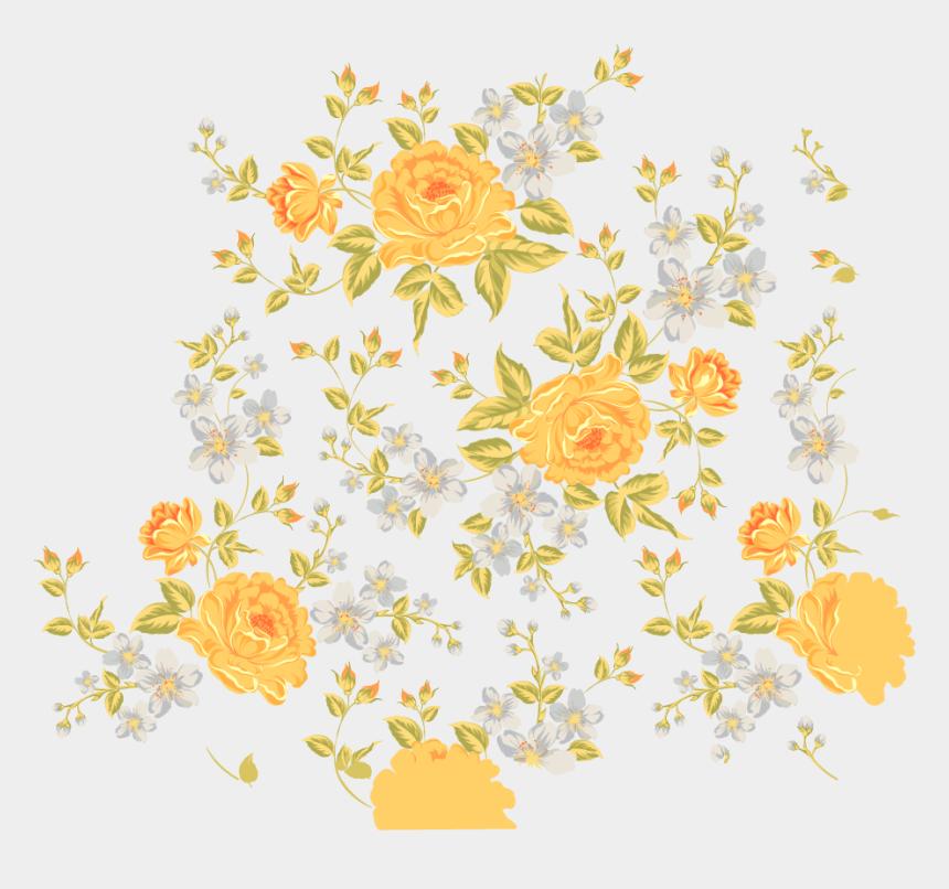 floral design clipart, Cartoons - Floral Design Flower - Free Flower Pattern Png