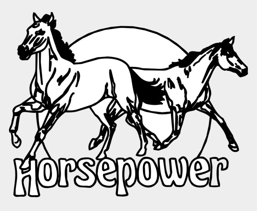 running horse clipart, Cartoons - Horses Horsepower Animals Running Circle Equine - Horsepower Horses
