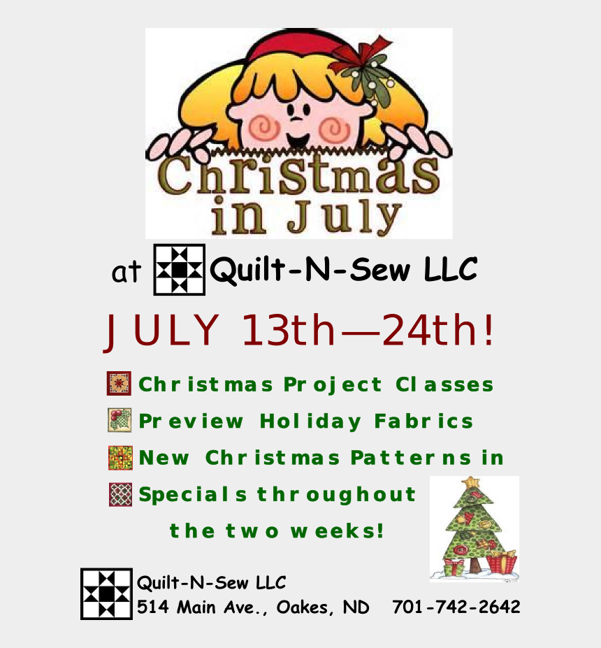christmas in july clipart, Cartoons - Christmas In July