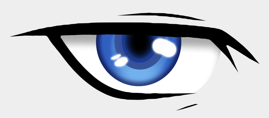 looking eyes clipart, Cartoons - Anime Eye Png - Animated Blinking Eye Png