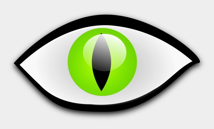 cat eyes clipart, Cartoons - Illustration Of A Cat Eye - Cat Eye Clipart