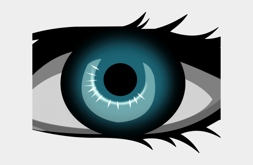 eyeball clipart, Cartoons - Eyeball Clipart Png Realistic - One Eye Clip Art