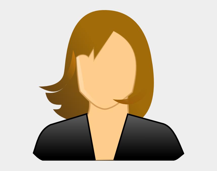 female clipart, Cartoons - Faceless Woman Clip Art At Clker Com Ⓒ - User Icon