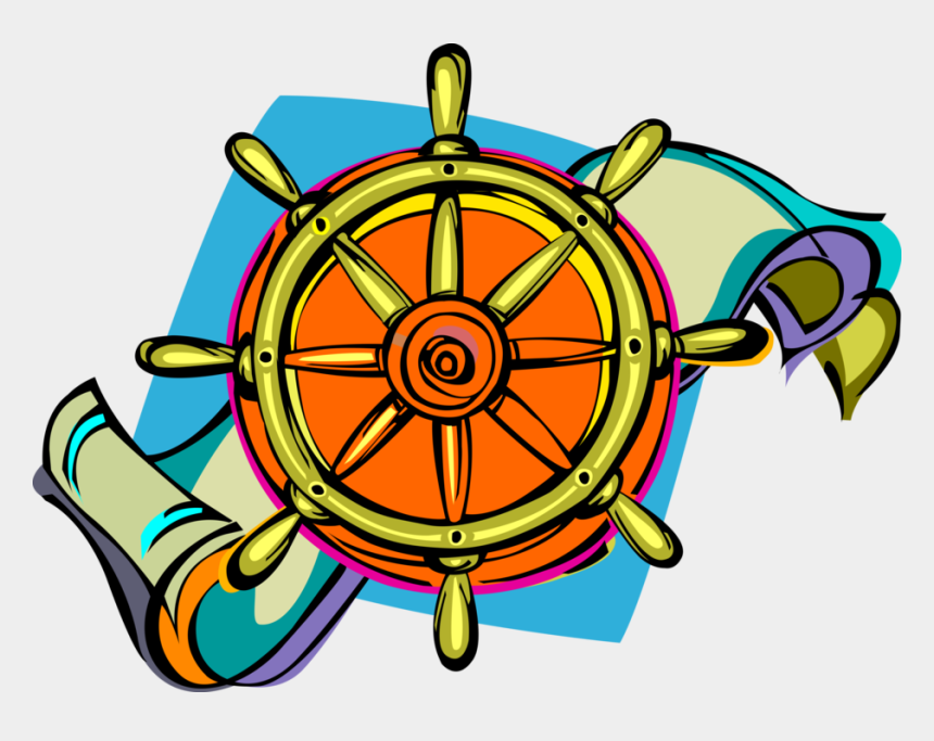 ship wheel clipart, Cartoons - Helm Vector Wheel - Circle