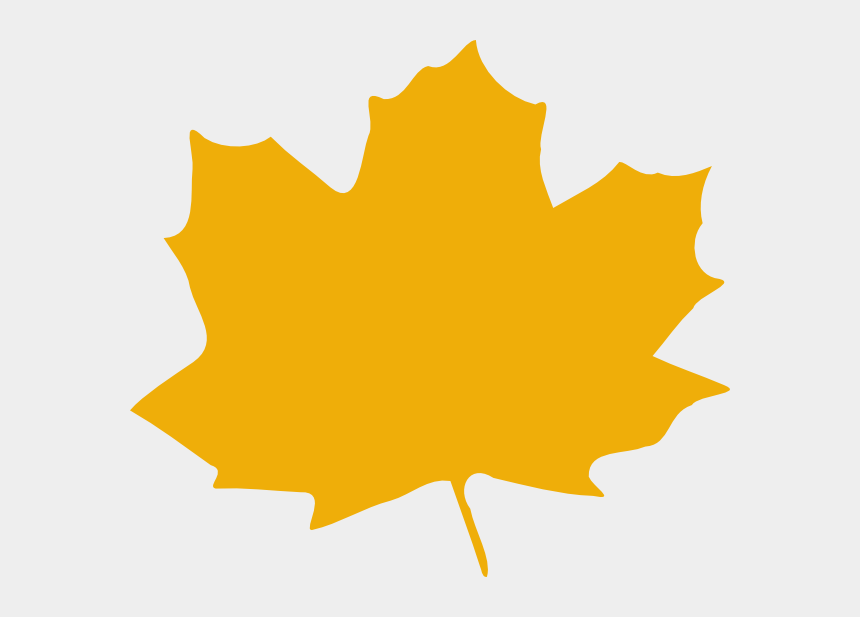 maple tree clipart, Cartoons - Clip Art At Clker Com Vector Online Ⓒ - Yellow Autumn Leaf Clip Art