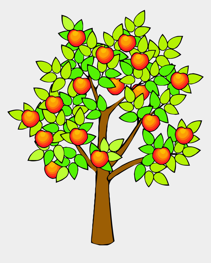 spring tree clipart, Cartoons - Spring Green Tree Clipart Png - Orange Tree Clipart